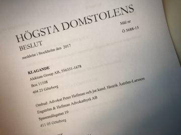 Engström & Hellman vinner mål i Högsta domstolen