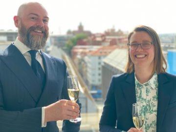 Engström & Hellman firar två nya advokater